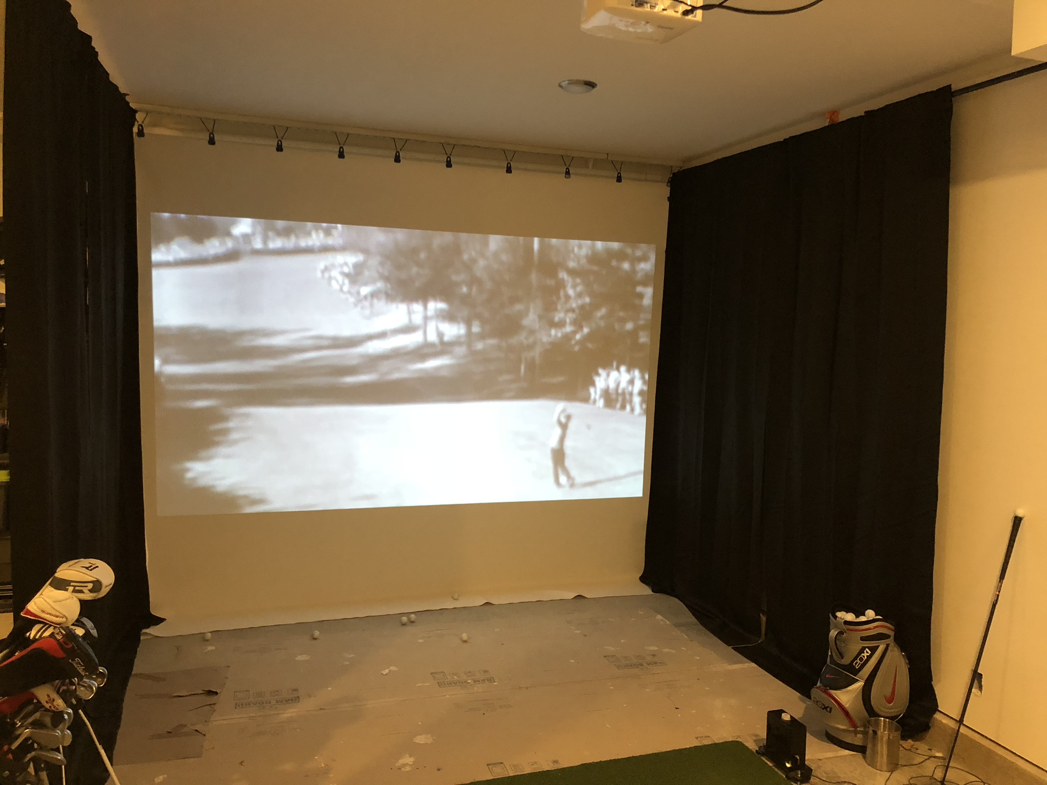 Show Us Your Golf Cave/Simulator