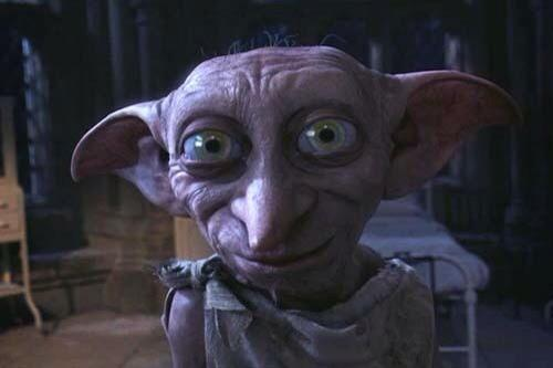 Image result for dobby harry potter happy